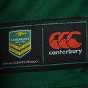 Australia Kangaroos RLWC 2017 Home Pro S/S Rugby League Shirt