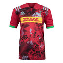 Harlequins 2017/18 Kids Alternate S/S Replica Rugby Shirt