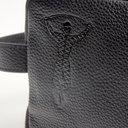 Harlequins Luxury Embossed Leather Washbag