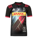 Harlequins 2017/18 Kids 3rd S/S Replica Rugby Shirt