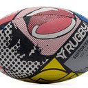 Graphic Rugby Training Ball