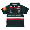 Leicester Tigers 2017/18 Infant Home S/S Classic Rugby Shirt