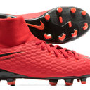 Hypervenom Phelon III Dynamic Fit Kids FG Football Boots