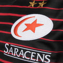 Saracens 2017/18 Home S/S Replica Rugby Shirt