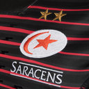 Saracens 2017/18 Home Players Match S/S Replica Rugby Shirt