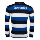Bath 2017/18 Home L/S Classic Rugby Shirt