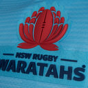 NSW Waratahs 2018 Home Super Rugby S/S Rugby Shirt