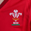 Wales WRU 2017/19 Ladies Home S/S Replica Rugby Shirt