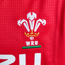 Wales WRU 2017/19 Kids Home S/S Replica Rugby Shirt