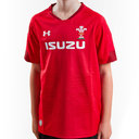 Wales WRU 2018/19 Kids Home S/S Replica Shirt