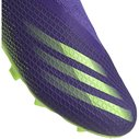 X .3 Laceless Childrens FG Football Boots