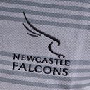 Newcastle Falcons 2017/18 Supporters Rugby Polo Shirt