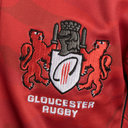 Gloucester 2017/18 Kids Remembrance Day Poppy S/S Rugby Shirt