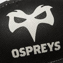 Ospreys Home Mini Supporters Rugby Ball