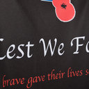 Army Rugby Union Lest We Forget Poppy Remembrance Day Rugby T-Shirt