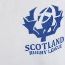 Scotland Rugby League RLWC 2017 Kids Alternate S/S Replica Rugby Shirt