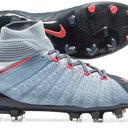 Hypervenom Phantom III Dynamic Fit Kids FG Football Boots