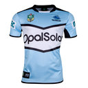 Cronulla Sharks NRL 2018 Home S/S Replica Rugby Shirt