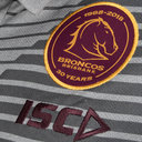 Brisbane Broncos NRL 2018 Players Rugby Polo Shirt
