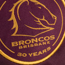 Brisbane Broncos NRL 2018 Kids Home S/S Rugby Shirt