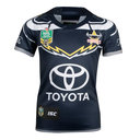 North Queensland Cowboys NRL 2018 Kids Home S/S Rugby Shirt