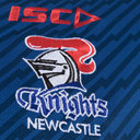 Newcastle Knights NRL 2018 Players Rugby Polo Shirt