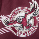 Manly Sea Eagles 2018 NRL Kids Home S/S Rugby Shirt