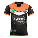 Wests Tigers NRL 2018 Youth Home Replica S/S Rugby Shirt
