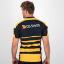 Wasps 2018/19 Home S/S Players Test Rugby Shirt