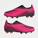 X .3 Laceless Junior FG Football Boots
