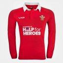 Help 4 Heroes Wales Long Sleeve Jersey Mens