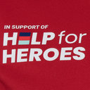 Help 4 Heroes Wales Polo Shirt Mens
