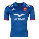 France 2018 Home S/S Replica Rugby Shirt