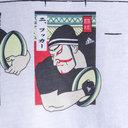 New Zealand 2018/19 Graphic Kabuki Line Up T-Shirt