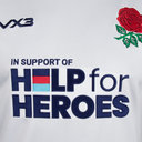 Help 4 Heroes England Short Sleeve Jersey Juniors