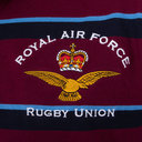 RAF 2018 Commemorative Hooped Rugby Polo Shirt