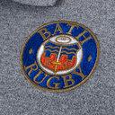 Bath 2018/19 Cotton Stripe Rugby Polo Shirt