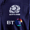 Scotland 2018/19 Home Cotton S/S Replica Rugby Shirt