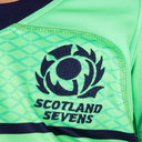 Scotland 7s 2018/19 Kids Alternate S/S Replica Rugby Shirt