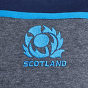 Scotland 2018/19 Players L/S Travel Rugby T-Shirt
