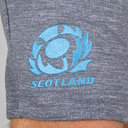 Scotland 2018/19 Off Field Cotton Rugby Shorts