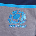 Scotland 2018/19 Players 1/4 Zip Rugby Training Top