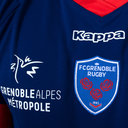 FC Grenoble 2018/19 Home S/S Replica Rugby Shirt