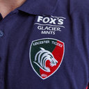 Leicester Tigers 2018/19 Players Pique Rugby Polo Shirt