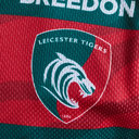 Leicester Tigers 2018/19 Kids Home S/S Replica Rugby Shirt