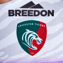 Leicester Tigers 2018/19 Kids Alternate S/S Replica Rugby Shirt