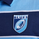 Cardiff Blues 2018/19 Heavy Cotton Retro Rugby Shirt