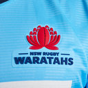 NSW Waratahs 2019 Home Super Rugby S/S Rugby Shirt