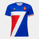France 7s 2018/19 Home S/S Rugby Shirt