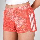 D2M Ladies 3 Stripes Performance Shorts